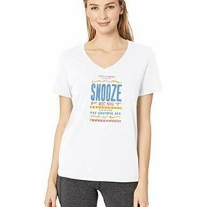 Life is Good Womens T-Shirt Snooze Fest